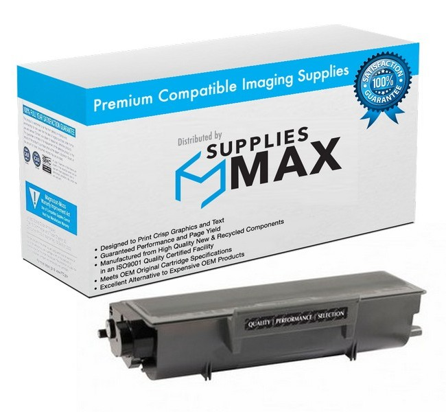Compatible Brother DCP-8060/8065/HL-5240/5250/5280/MFC-8460/8670/8870 Jumbo Toner Cartridge (12000 Page Yield) (TN-580J)