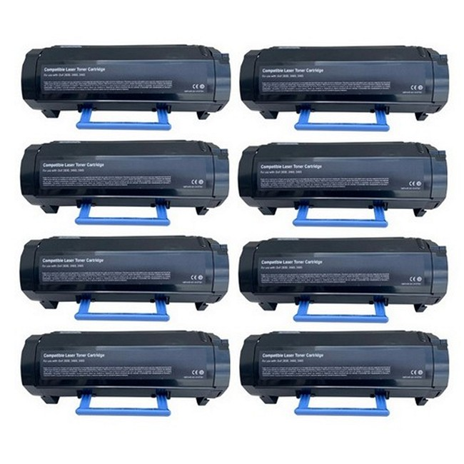 SuppliesMAX Compatible MICR Replacement for Dell B2360DN//B3460DN//B3465DN Jumbo Toner Cartridge 2//PK-20000 Page Yield 2JYB3460